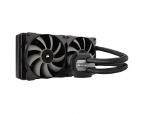 Cooler CPU Corsair H115i, racire cu lichid, ventilator 2x140mm, baza cupru, Socket Support: AM2, AM3,