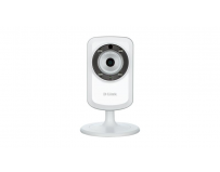 Camera Supraveghere IP D-Link DCS-933L, Day/Night, Wireless N, WPS, IR 5m, microfon, Wi-Fi Extender,