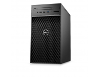 Precision 3640 Tower with 550W up to 90% efficient (80 Plus Gold) PSU, Advanced Front I/O with SD card