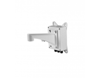 Hikvision Wall mount bracket with junction box, DS-1601ZJ-BOX; white Aluminum alloy, 396.5x209x310mm;