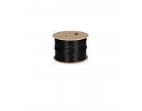 Cablu coaxial RG59 CCA Hikvision DS-1LC1SCA-200B; Lungime 200metri, Conductor material OFC(Oxygen Free
