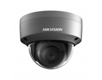 Camera de supraveghere Hikvision IP Dome DS-2CD2123G0-I(2.8mm)BLACK; 2MP; carcasa camera metal, culoare