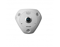 "Camera supraveghere Hikvision 12MP Fisheye PoE, DS-2CD63C2F-I, 1/1.7""Progressive Scan CMOS, Light: 0.01"