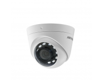 Camera de supraveghere Hikvision TurboHD Dome DS-2CE56D0T-I2PFB(2.8mm); 2MP; camera cu videobalun incorporat;