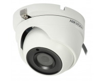 Camera Dome HIKVISION Analog HD TVI, DS-2CE56F7T-ITM(2.8), 3MP,3MP CMOSSensor, 18fps at 1920*1536 resolution,