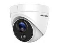 Camera supraveghere Hikvision TurboHD dome DS-2CE71H0T-PIRLPO(2.8mm); 5MP; camera cu detector PIR incorporat;