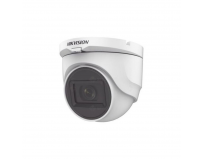 Camera supraveghere Hikvision Turbo HD dome DS-2CE76D0T-ITMFS(2.8mm); 2MP; Audio over coaxial cable,