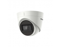 Camera de supraveghere Hikvision Turbo HD Outdoor Dome, DS-2CE76H8T- ITMF(2.8mm); 5 MP; Fixed Lens: