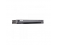 DVR Turbo HD 16 canale DS-7216HQHI-K1(S); 4MP; inregistrare 16 canale audio si video over coaxial, pentru