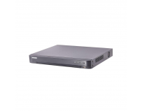 DVR Turbo HD 16 canale DS-7216HQHI-K2(S); 4MP; inregistrare 16 canale audio si video over coaxial, pentru