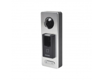 Controler de acces control cu acces biometric, cititor card Mifare sicamera video Hikvision, DS-K1T501SF;