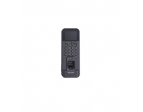 Controler de acces biometric stand alone Hikvision cu tastatura si cartele de proximitate MIFARE, DS-K1T804MF;