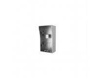 Door Station Wall Mount Bracket, DS-KAB02; Stainless steel material;Convenient design available for