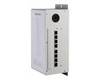 Video/Audio Distributor Hikvision DS-KAD606 built-in voltage-stabilized power, 8 x 100Mbps ports(6-ch