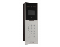 "Post videointerfon color cu cititor ID Hikvision DS-KD8002-VM, 3.5"" Physical Touch Key 1.3 MP Door Station,"