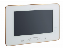 "Monitor videointerfon color Hikvision DS-KH8301-WT, 0.3MP 7"" Touch- Screen Indoor Station, Mechanical"