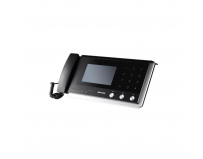 Video Intercom Master Station Hikvision DS-KM8301; Glass panel and aluminum-alloy bracket; Supports