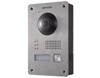 Post de videointerfon exterior pe 2 fire Hikvision, DS-KV8103-IME2;montaj pe 2 fire; 1080P two-wire