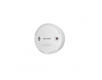 Detector de fum wireless Hikvision, DS-PD1-SMK-W; 433MHz RF two-way wireless; Power by battery; AES-128