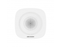 Sirena interior wireless AX PRO Hikvision DS-PS1-I-WE(Blue Indicator); 868MHz two-way Tri-X wireless