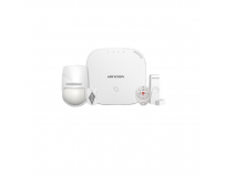 Kit de alarma Wireless Hikvision, DS-PWA32-KT; LAN+WIFI, RF Card; Frecventa de operare 433MHz; Distanta