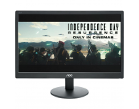 "Monitor 18.5"" AOC E970SWN, FWXGA 1366*768, TN , 16:9, WLED, 5 ms, 200 cd/m2, 90/65, 40M:1/ 700:1, VGA,"