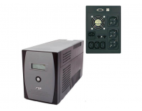 UPS FSP EP 1500 SP, Line-interactive, 1500VA/900W, 3 Prize Schuko, Tipul bateriei 12 V/9 Ah x 2, Greutate