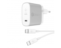 Belkin BOOST↑CHARGE™ USB-C™ Home Charger + Cable with Quick Charge™ 4+