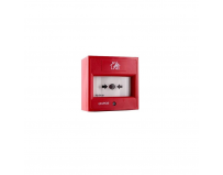 Buton de incendiu adresabil de interior, FD7150-RE, element activare din material flexibil - izolator