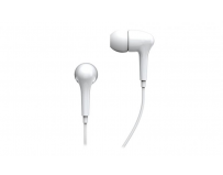 Casti stereo Genius, GHP-206, In-ear, 20Hz-20KHz, 16Ohm, 1.2m cable, culoare alb, 3.5mm jack