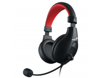 Headset Genius gaming, HS-520, full size, 20 Hz - 20K Hz, 32 ohm, adjustable microphone and flexible
