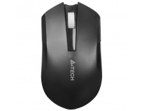 Mouse A4tech wireless, optic, V-TRACK, 1000dpi, negru, Li-Ion rechargable battery, Metal feet, USB