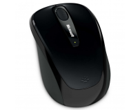 Mouse Microsoft Mobile 3500 Wireless Ambidextru BlueTrack Negru