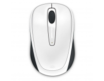 Mouse Microsoft Wireless, BlueTrack Mobile 3500 alb ambidextru
