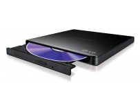 Unitate optica HITACHI-LG, DVD+/-RW, 8x, GP57EB40, extern, USB 2.0, slim, negru.