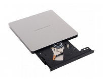 Ultra Slim Portable DVD-R Silver Hitachi-LG GP60NS6, GP60NS60 Series, DVD Write /Read Speed: 8x, CD