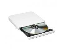 Ultra Slim Portable DVD-R Silver Hitachi-LG GP90NW70, GP90NW70 Series, DVD Write /Read Speed: 8x, CD