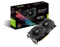 Placa video Asus NVIDIA GeForce GTX 1050 TI, STRIX-GTX1050TI-4G-GAMING, PCI Express 3.0, GDDR5 4GB,