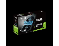 Placa video ASUS Dual GeForce® GTX 1660 Ti OC edition 6GB GDDR6 EVO / DUAL-GTX1660TI-O6G-EVO, Bus: