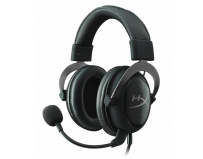 Casti cu microfon Kingston gaming, HyperX Cloud II Gaming Gun Metal, Full size, 15-25000Hz, 60 ohm,