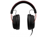 Casti cu microfon Kingston gaming, HyperX Cloud II Gaming Red, Full size, 15-25000Hz, 60 ohm, cablu