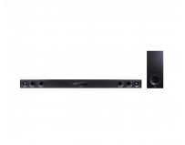 SOUNDBAR LG LAS655K, built-in FM tuner and support for Karaoke, Wireless active subwoofer, Front speaker