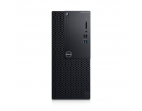 Desktop Dell OptiPlex 3070 MT, Intel® Core i3-9100 (4 Cores/6MB/4T/3.6GHz to 4.2GHz/65W), Integrated