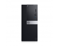 Desktop Dell OptiPlex 7070 MT, Intel® Core i7-9700 (8 Cores/12MB/8T/3.0GHz to 4.8GHz/65W); supports