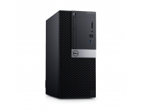 Desktop Dell OptiPlex 5070 MT, Intel® Core i7-9700 (8 Cores/12MB/8T/3.0GHz to 4.8GHz/65W), Integrated