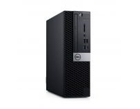 Desktop Dell OptiPlex 5070 SFF, Intel Core i7-9700 (8 Cores/12MB/8T/3.0GHz to 4.8GHz/65W); supports