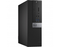 Desktop Dell OptiPlex 3040 SFF, Intel Core i3-6100 Processor (Dual Core, 3MB, 4T, 3.7GHz, 65W), Intel