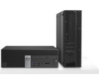 Desktop Dell OptiPlex 7050 SFF, Intel Core i7-7700(QC/8MB/8T/3.6GHz/65W), Intel Integrated Graphics,