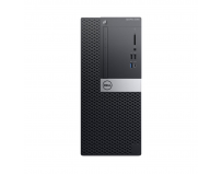 Desktop Dell OptiPlex 5060 MT, Intel Core i7-8700 (12M Cache, up to 4.60GHz); supports Windows 10/Linux,
