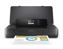 Imprimanta inkjet color HP OFFICEJET 202 MOBILE PRINTER, Dimensiune: A4, Viteza: 10 ppm mono/color,